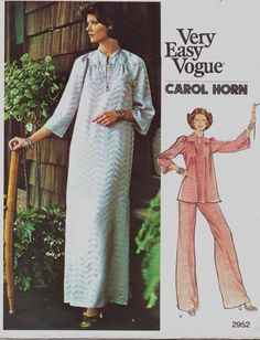 70s Vogue Americana Pattern 2952 Carol Horn Womens by CloesCloset, $14.00