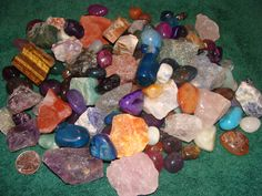 Gemstone party mix for 10 kids. Both tumbled and rough stone plus 10 faceted gems. This will be the perfect mix for my son's upcoming gemstone mining party. $49.99