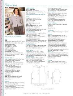 Moss Stitch, Knitting Magazine, Knitting Stitches, The Borrowers, Free Pattern, Knitting Patterns, Archive, Internet, Charts