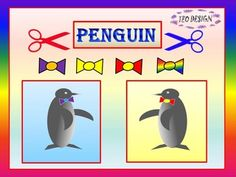 Crafts - PENGUINCreate a beautiful set of PENGUINS with your students.These projects will help your students develop important hand craft skills - cutting, coloring and pasting. These craft projects are for students from pre-k to 2 grade. Students have to cut out, color and glue the different parts of the animal.