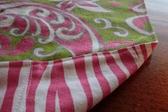 How to make a duvet cover, from Warehouse Fabrics