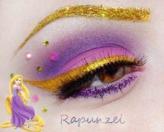 Rapunzel. + Información sobre nuestro CURSO: http://curso-maquillaje.es/msite-nude/index.php?PinCMO