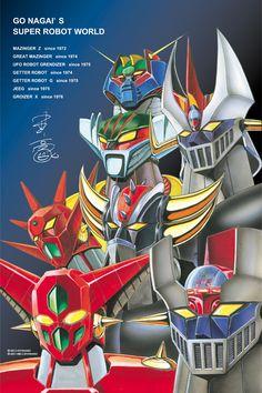 Go Nagai's Super Robot World by Go Nagai