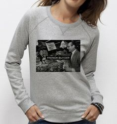 #Sweatshirt French Burger - #Madamtshirt  -  Dispo ici : http://www.madametshirt.com/fr/sweat-shirts/1604-sweat-french-burger.html #sweat #pull