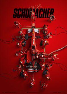 Ferrari - Michael Schumacher - Pit Stop Suzuka GP Michael Schumacher, Mick Schumacher, Ferrari F1, Logo Moto, Marlboro Logo, Stock Car, Aryton Senna, Poster Store, Bmw Autos