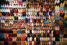 Babouche (Nada*) Tags: africa leather shop comfortable shopping shoes pretty colours display handmade traditional arabic flats morocco souk tradition selling mules slippers beaded moroccan bejeweled babouche babouch World Best Photos, Art Supplies, Moroccan, Colours, Display, Traditional, Pretty, Leather, Handmade