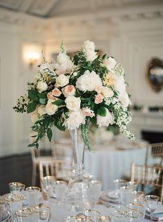 Photography: Vicki Grafton Photography - vickigraftonphotography.com Floral Design: Floral And Bloom - floralandbloom.com Reception Venue: DAR Memorial Hall - dar.org   Read More on SMP: http://www.stylemepretty.com/2016/01/05/classic-washington-dc-ballroom-wedding/