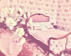 Normandy, Toddler Bed, Rose, Furniture, Home Decor, Stream Bed, Bedroom, Normandie, Child Bed