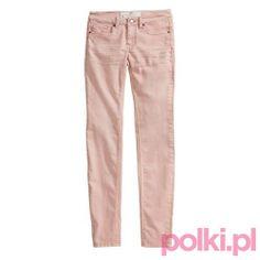 Pastele wiosna 2014, różowe spodnie, H&M