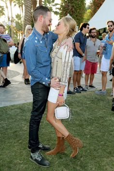 Pin for Later: Seht alle Stars beim Coachella Musikfestival Michael Polish und Kate Bosworth