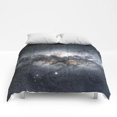 Milky Way Galaxy Stars Night Sky Comforters