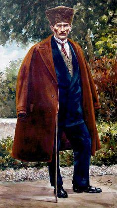 Mustafa Kemal ATATÜRK   - Ressam Ömer Muz