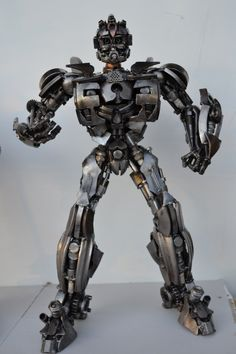Amazing sculptures made out of scrap metal