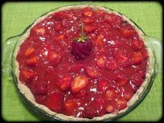It's a flavorful life: Guilt Free Strawberry Pie