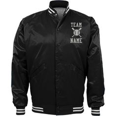 Personalized Baseball Coach Team Jacket | Available in other styles & colors.