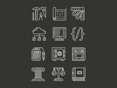 MD Service Icons by Brian K Gray