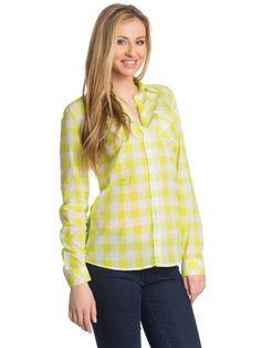 Γυναικείο πουκάμισο COLLEZIONE - πράσινο