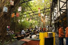 To go when in india: Outdoor cafe at Prithvi Theatre, Juhu.