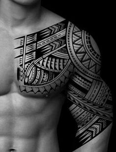 Tattoo Trends - Tattoos - unique Tattoo Trends – Tattoos -You can find Tattoos and more on our website. Tribal Shoulder Tattoos, Tribal Tattoos For Men, Unique Tattoos, Tattoos For Women, Tattoos For Guys, Tattoo Women, Life Tattoos, Body Art Tattoos, Hand Tattoos