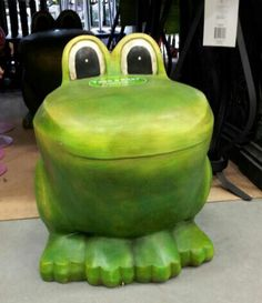 Frog stool... Found @ Lowes (Canada)