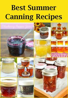 """Canning Recipes 