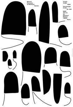 france, 2018 / exhibition poster for artists run space doc in paris. Corporate Design, Aquarium Tropical, Mm Paris, Cool Posters, Graphic Posters, Design Fields, Exhibition Poster, Signage Design, Graphic Design Studios