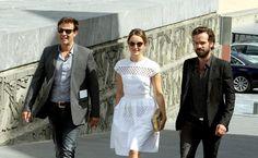 François Ozon presenta 'Une nouvelle amie' -  El director ha estado acompañado por los protagonistas de su filme, los actores Romain Duris y Anaïs Demoustier