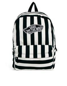 Vans Realm Backpack in Stripe