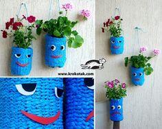 Materiales gráficos Gaby: Envases SUSPENDIDOS la diversión para las flores