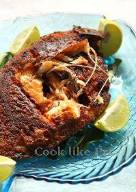 Cook like Priya: Karimeen Fry   South Indian fish fry recipe
