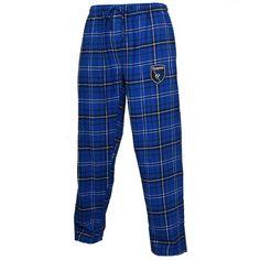 San Jose Earthquakes Concepts Sport Ultimate Flannel Pajamas - Royal - $29.99