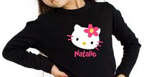 Hello Kitty Birthday Shirt Personalized Long by personaliTEEshop, $24.00