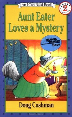 PAunt Eater Loves a Mystery (I Can Read Book 2) by Doug Cushman, ages 4-8