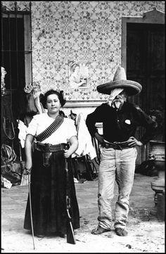 silezukuk:Durango, Mexico 1911 / Herculano de la Rodia and his daughter, Clara Rodia de Peña, rich miners from Durango who joined the Maderista revolt. // John Mraz, Photographing the Mexican Revolution: commitments, testimonies, icons, University of Texas Press, 2012