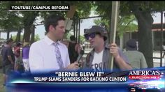 'Never Hillary': Many Bernie Sanders Supporters Are Pledging to Back Trump