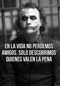 Joker Frases, Joker Quotes, Wife Quotes, Sad Quotes, Joker Cosplay, Suicide Squad, Quotes En Espanol, Millionaire Quotes, Daddy Yankee