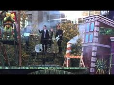 Panic! At The Disco at Macy's Thanksgiving Day Parade on the Ninja Turtl...