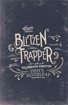 Blitzen Trapper with Telegraph Canyon - November 4, 2012 at Dan's Silver Leaf