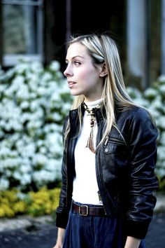 Trying Cropped Leather, Again! #leather #cropped #seventies #ukblogger