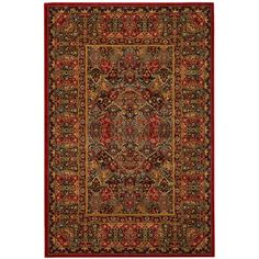 "American Rug Craftsmen Davenport Barnard Black 9'6"" x 12'11"" Area Rug (146.985 RUB) ❤ liked on Polyvore featuring home, rugs, black floral rug, stain resistant area rugs, floral area rug, medallion area rug and black floral area rugs"