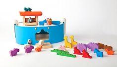 Wooden Noah's Ark, $41