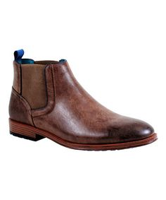 Look what I found on #zulily! Brown Andrew Slip-On Boot #zulilyfinds