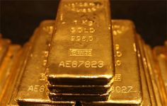 Gold is commonly formed into bars for use in monetary exchange.