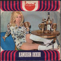 1960s Turkish 45 record sleeve