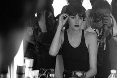 Fashion fan blog from industry supermodels: Vanessa Moody - Behind The Scenes of amfAR Gala Ca...