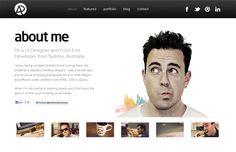 50 Great Author Bios for Inspiration Portfolio Web Design, Web Design Tips, Web Design Company, Portfolio Website, Portfolio Ideas, Design Process, Ui Design, Graphic Design, About Us Page Design