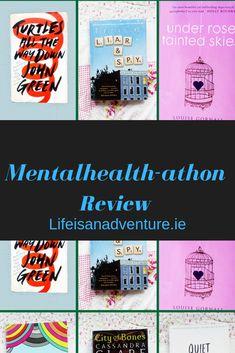 Mentalhealth-athon review. May. Books. Book blog. Readathon.