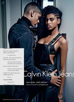 Calvin Klein Embraces Sexting and Tinder in Racy Campaign About Digital Dating | Adweek
