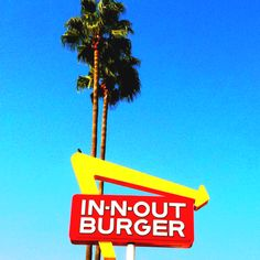 "i have NEVER been to ""In-N-Out Burger'. Must go this Fall. :)"