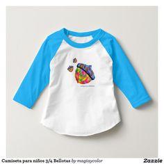 Acorn Kids 3/4 t-shirt - Camiseta para niños 3/4 Bellotas